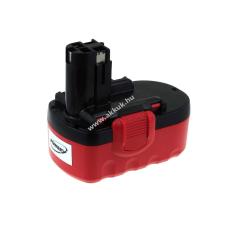 Powery Utángyártott akku Bosch körfűrész GKS 18V NiCd O-Pack 2000mAh barkácsgép akkumulátor