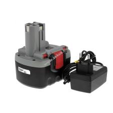 Powery Utángyártott akku Bosch típus 2607335264 O-Pack Li-Ion + töltő barkácsgép akkumulátor töltő