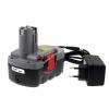 Powery Utángyártott akku Bosch típus 2607335278 O-Pack Li-Ion + töltő