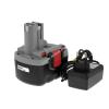 Powery Utángyártott akku Bosch típus 2607335423 O-Pack Li-Ion + töltő