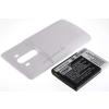 Powery Utángyártott akku LG G3 fehér 6000mAh