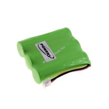 Powery Utángyártott akku Radio Shack 43-472 vezeték nélküli telefon akkumulátor