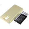Powery Utángyártott akku Samsung SM-G900R4 arany 5600mAh