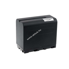Powery Utángyártott akku Sony videokamera CCD-TR760E 6600mAh fekete sony videókamera akkumulátor