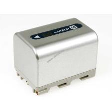 Powery Utángyártott akku Sony videokamera DCR-DVD301 3000mAh ezüst sony videókamera akkumulátor