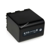 Powery Utángyártott akku Sony Videokamera DCR-TRV27E 4500mAh Antracit és LED kijelzős