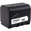 Powery Utángyártott akku videokamera JVC GZ-E15BEU 3,6V 2670mAh Li-Ion fekete (info chip-es)