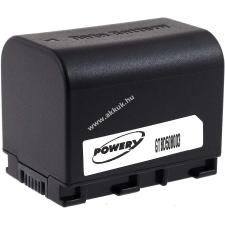 Powery Utángyártott akku videokamera JVC GZ-HM50AUS 3,6V 2670mAh Li-Ion fekete (info chip-es) jvc videókamera akkumulátor