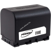 Powery Utángyártott akku videokamera JVC GZ-HM570-R 3,6V 2670mAh Li-Ion fekete (info chip-es)