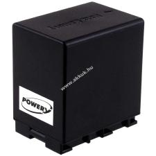 Powery Utángyártott akku videokamera JVC GZ-MG750BEK 4450mAh (info chip-es) jvc videókamera akkumulátor