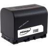 Powery Utángyártott akku videokamera JVC GZ-MS250BU 3,6V 2670mAh Li-Ion fekete (info chip-es)