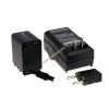 Powery Utángyártott akku videokamera JVC típus BN-VG138EU (lapos csatlakozóval) +töltővel