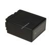 Powery Utángyártott akku videokamera Panasonic HDC-TM350 4800mAh
