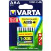 Powery Varta Power akku HR03 LR03 Micro AAA NiMH 4db/csom. 1000mAh