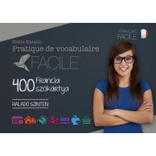 PRATIQUE DE VOCABULAIRE FACILE - 400 FRANCIA SZÓKÁRTYA(HALADÓ SZINTEN) idegen nyelvű könyv