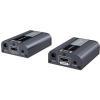 PremiumCord HDMI2.0 extender 60m-en keresztül egy Cat6 / 6a / 7 kábel segítségével