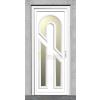 PRESTON 3 Műanyag bejárati ajtó 100x210 cm