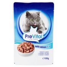 PreVital teljes értékű állateledel felnőtt macskák számára lazaccal 100 g macskaeledel