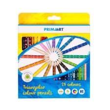 Prima Art háromszögletű színes ceruza - 24 db ceruza