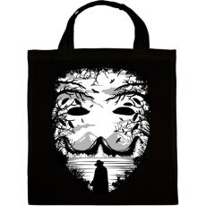 PRINTFASHION A maszk - Vérbosszú - Vászontáska - Fekete