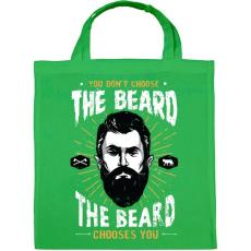 PRINTFASHION A szakáll választ téged! - Vászontáska - Zöld