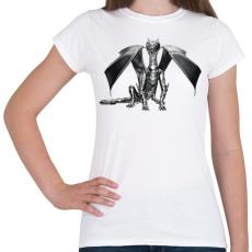 PRINTFASHION Acélsárkány - Női póló - Fehér