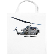 PRINTFASHION AH-1 Cobra - Vászontáska - Fehér