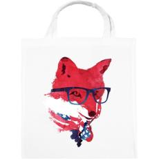 PRINTFASHION American fox - Vászontáska - Fehér
