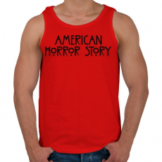 PRINTFASHION American Horror Story - Férfi atléta - Piros