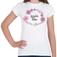 PRINTFASHION Anya - Női póló - Fehér