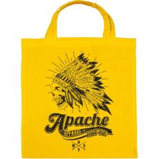PRINTFASHION Apacs - Vászontáska - Sárga