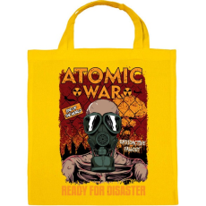 PRINTFASHION Atomháború - Vászontáska - Sárga