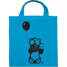 PRINTFASHION Atommaci - Vászontáska - Kék