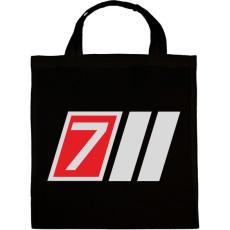 PRINTFASHION AUDI S7 - Vászontáska - Fekete