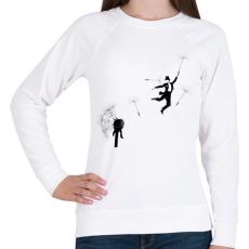 PRINTFASHION Aurevoir - Női pulóver - Fehér