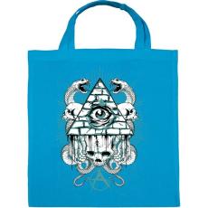 PRINTFASHION Az anarchia szeme - Vászontáska - Kék