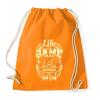 PRINTFASHION Az élet egy játék - Sportzsák, Tornazsák - Narancssárga