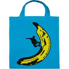 PRINTFASHION Banán deszkás - Vászontáska - Kék