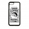 PRINTFASHION Baseball csapat  - Telefontok - Fehér hátlap