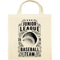 PRINTFASHION Baseball csapat  - Vászontáska - Natúr