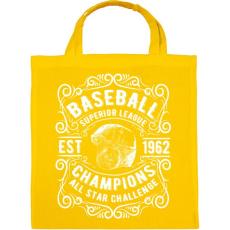 PRINTFASHION Baseball Szuper bajnokság - Vászontáska - Sárga