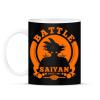 PRINTFASHION battle saiyan - Bögre - Fekete