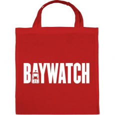PRINTFASHION BAYWATCH - Vászontáska - Piros