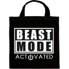 PRINTFASHION Beast Mode Activated - Vászontáska - Fekete
