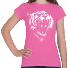 PRINTFASHION Befolyás ereje - Női póló - Rózsaszín