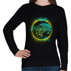 PRINTFASHION Belső erő - Női pulóver - Fekete