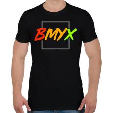 PRINTFASHION BeMyEx - Férfi póló - Fekete