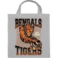 PRINTFASHION Bengáli tigris - Vászontáska - Szürke