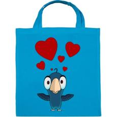 PRINTFASHION birdie - Vászontáska - Kék
