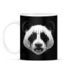 PRINTFASHION Black Metal Panda - Bögre - Fekete
